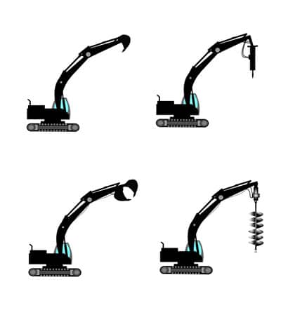 Excavator Attachments at a Glance in Sammamish (Part 1)